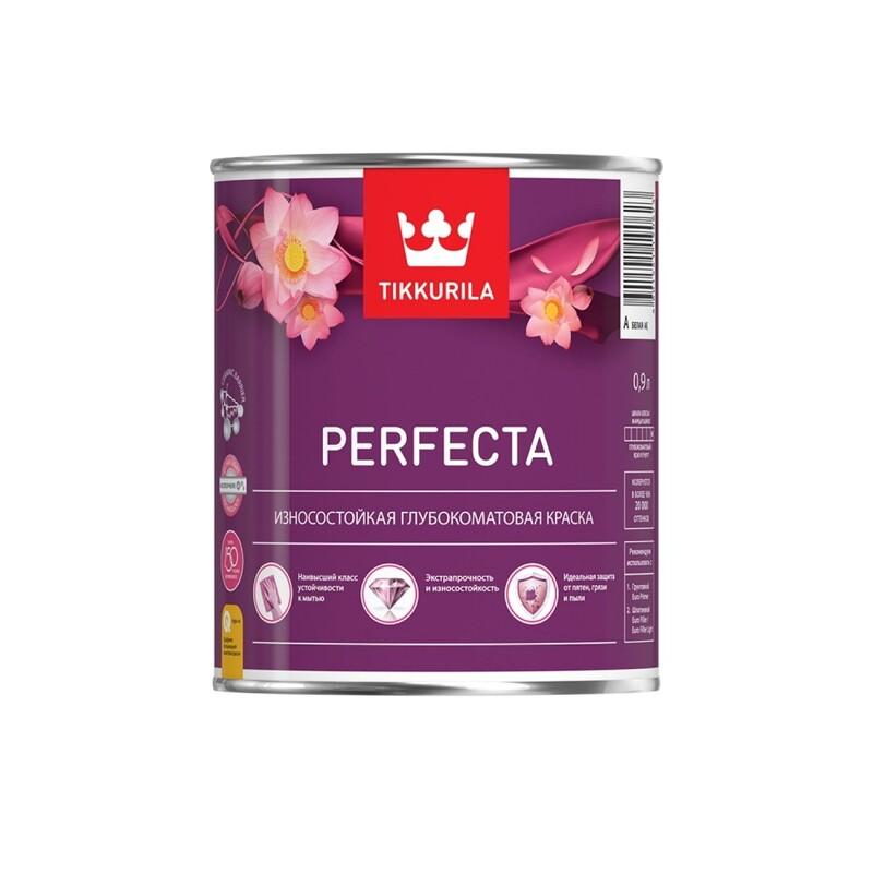 Tikkurila Perfecta / Тиккурила Перфекта краска износостойкая интерьерная, глубокоматовая