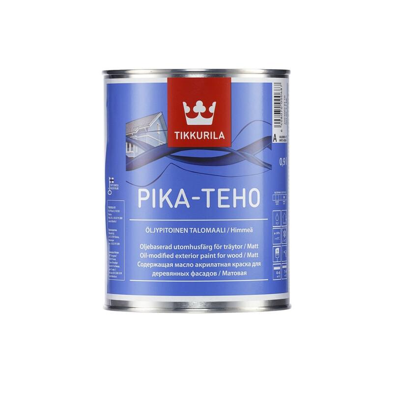 Tikkurila Pika Teho / Тиккурила Пика Техо водорастворимая фасадная краска для дерева