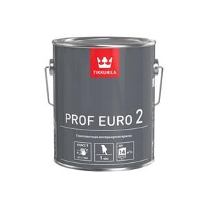 Tikkurila Prof Euro 2 | Тиккурила Проф Евро 2 краска грунтовочная интерьерная