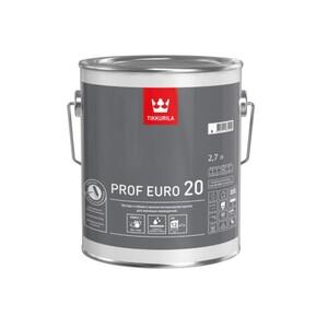 Tikkurila Prof Euro 20 | Тиккурила Проф Евро 20 краска экстра-стойкая для влажных помещений