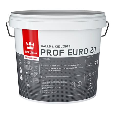 Tikkurila Prof Euro 20   Тиккурила Проф Евро 20 краска экстра-стойкая для влажных помещений