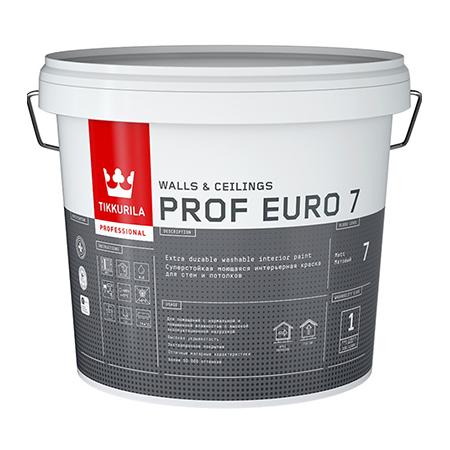Tikkurila Prof Euro 7 / Тиккурила Проф Евро суперстойкая интерьерная краска