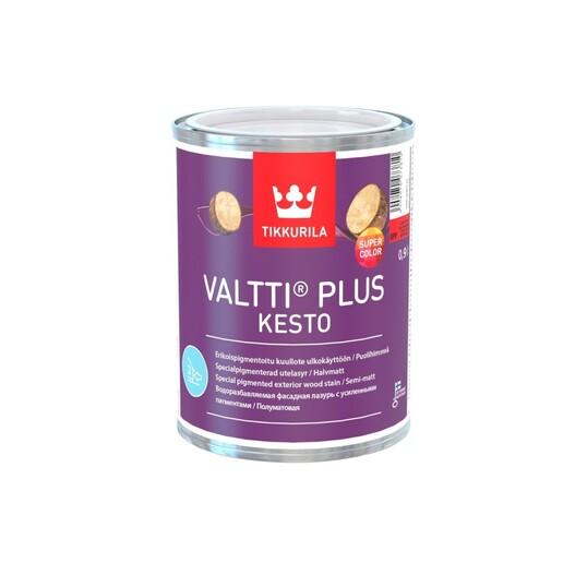 Tikkurila Valtti Plus Kesto водоразбавляемая фасадная лазурь-антисептик полуматовая