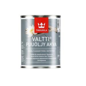 Tikkurila Valtti Puuöljy Akva | Тиккурила Валтти Пуолью Аква водоразбавляемое масло для обработки наружных конструкций из древесины